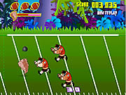 Taz Football Frenzy Game Online